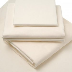 Brushed Cotton 4 ft fitted sheets Cream