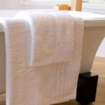 Towels hotel White soft touch