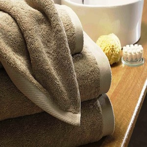 Pima Cotton Towels - Caramel
