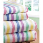 Candy Stripe Brushed Cotton