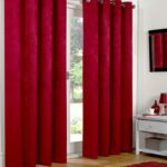 Blackout Curtains - Red