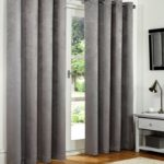 Blackout Curtains - Silver