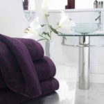 Pima Cotton Towels - Damson