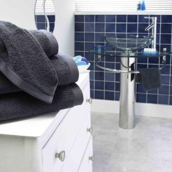 Pima Cotton Towels - Slate
