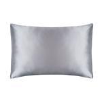 silk pillowcase grey