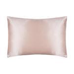 silk pillowcase pink