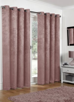 Blackout Curtains - Blush