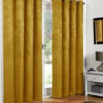 Blackout Curtains - Ochre
