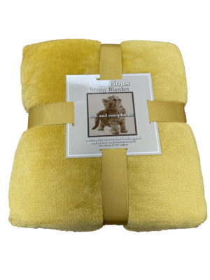 Ochre - Cuddle Blanket