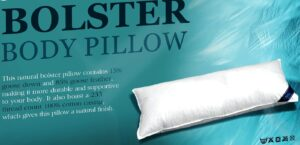 Goose Down & Feather Bolster