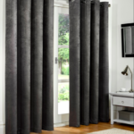 Charcoal Blackout Curtains
