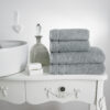 Hotel Accents Towel Silver Grey