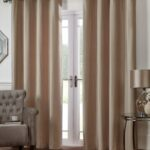 Velvet Curtains Mink