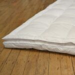 Dual Layer Goose Down and Feather Mattress Topper