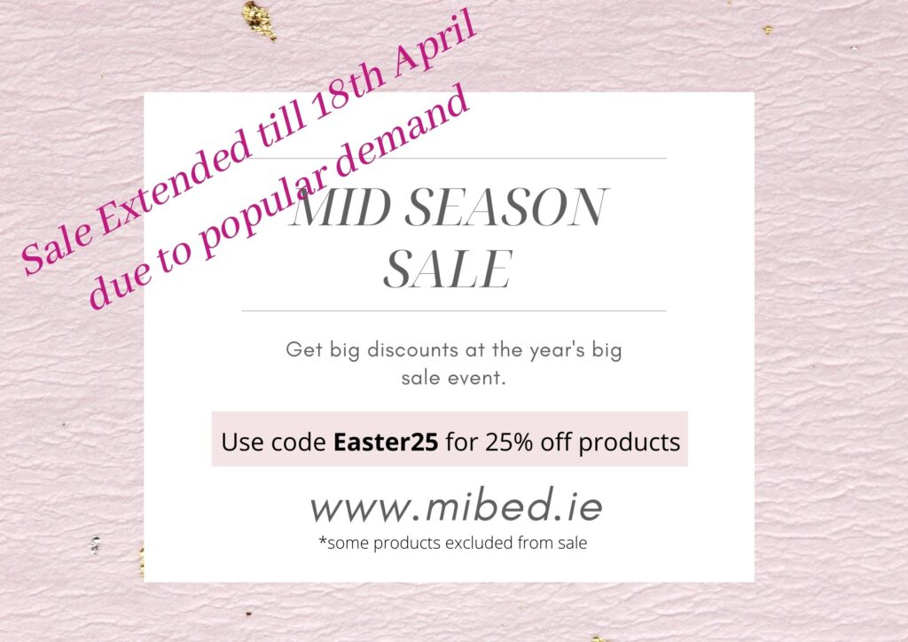 Mid Season Sale Extended