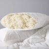 Open Wool Filled Pillow